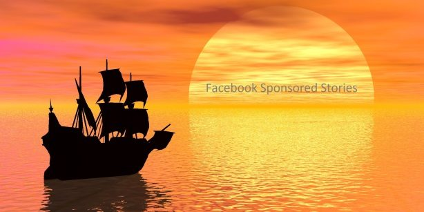 Facebook Sponsored stories sunset