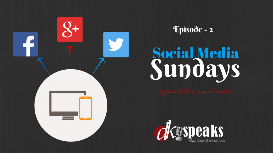 Social Media Sundays-Episode2
