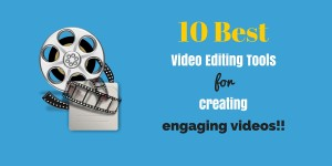 best video editing tools