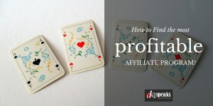 profitable affiliate programs