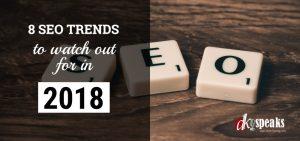 seo trends of 2018