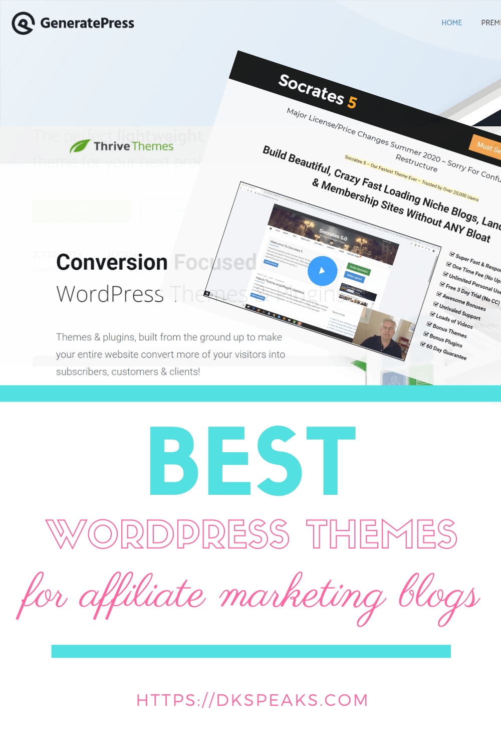best wordpress theme for affiliate marketing blogs